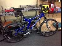 2004 Specialized FSR XC Mountain Bike. This bike was