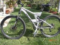 2004 SPECIALIZED FSR XC PRO FULL SUSPENSION, SIZE SMALL