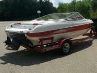 We are selling our 18 ft 2004 stingray 185 lx boat. 133