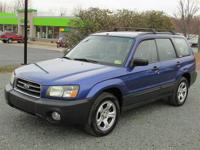 2004 SUBARU FORESTER ALL WHEEL DRIVE with powerful 2.5L