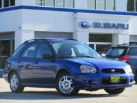 ***** AFFORDABLE ALL WHEEL DRIVE ***** This 2004 Subaru