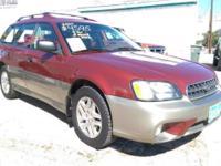 2004 Subaru Legacy Outback for sale! 4 cylinder engine