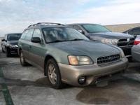 Options:  2004 Subaru Legacy Wagon Outback|/|V4 2.5L