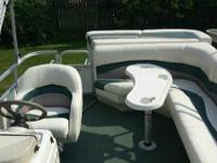 nice clean well cared for pontoon water ready no issues