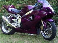 I am selling a custom candy purple, yoshimura exhaust,