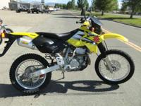 2004 Suzuki DR-Z400E Has FMF exhaust and custom seat.