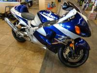 The '04 Hayabusa comes in 2 striking new color choices