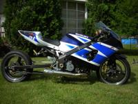 2004 Street legal GSXR 1000 grudge bike. This is the