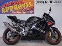 2004 Suzuki GSXR600 Crotch rocket for sale only $3,990!