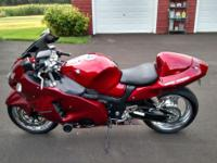 2004 Suzuki Hayabusa 1300 with 250HP Velocity Turbo.