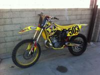 I have a 04 Suzuki rm 250 up for grabs, In outstanding