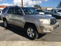 * 2004 Toyota 4Runner SR5 V6 2WD SUV with Leather *