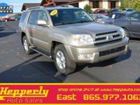 CARFAX One-Owner. This 2004 Toyota 4Runner Limited