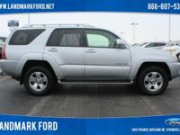 Our gorgeous 2004 Toyota 4Runner Limited 4WD knows how