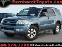 We are happy to offer you this 2004 Toyota 4Runner SR5