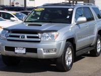 **SPORT EDITION** **4WD** **MOONROOF** **RECENT