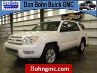 CARFAX 1 Owner 2004 TOYOTA 4RUNNER 4DR SR5 V6 AUTO with