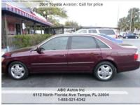 Toyota Avalon 4dr Car Automatic 4-Speed Red 116050 V6