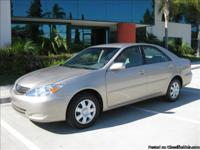BEAUTIFUL 2004 Toyota Camry Package,Front Bucket
