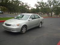 04 Toyota Camry LE model fully loaded has 167k miles