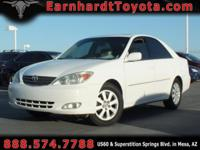 We are happy to offer you this 2004 Toyota Camry XLE