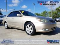 LOW MILEAGE 2004 TOYOTA CAMRY SE**CLEAN CAR FAX**ONE