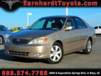 We are happy to offer you this 1-OWNER 2004 TOYOTA