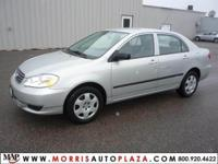 Options Included: N/AThis 2004 Corolla CE is equipped