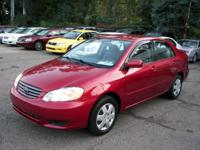 Options Included: N/A04 TOYOTA COROLLA