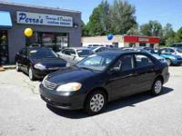 THIS 2004 TOYOTA COROLLA LE HAS A CLEAN CARFAX AND IS A
