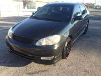 Toyota Corolla S 2004 Gas Saver 25 City 28 Combined 34