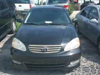 2004 TOYOTA COROLLA S AUTOMATIC 4 CYLINDER