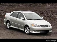 This BLUE 2004 Toyota Corolla 4DR SDN S MANUAL might be