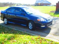 Very clean two owner, non-smoker 2004 Toyota Corolla S