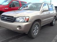 Come see this 2004 Toyota Highlander Base. Its