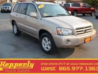 2004 Toyota Highlander, New Tires, Tow Package, Clean