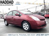 2004 Toyota Prius Red 1.5L I4 SMPI DOHC. 60/51mpg
