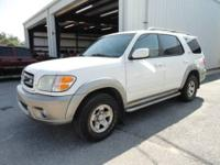 The 2004 Toyota Sequoia is a thoroughly capable and