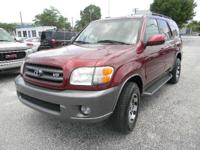 Options Included: N/A2004 TOYOTA SEQUOIA SR5,2WD,..IN