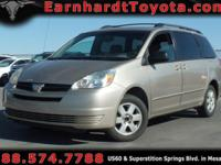 We are happy to offer you this 2004 Toyota Sienna LE