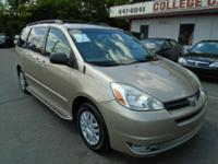 COME SEE WHAT A CLEAN AND NICE DRIVING VAN THIS SIENNA