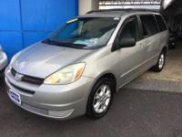 This outstanding example of a 2004 Toyota Sienna LE is