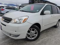 Options:  2004 Toyota Sienna Xle Limited|White|*Clean