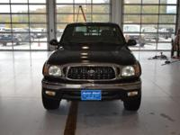 Options:  2004 Toyota Tacoma Black|Here At The