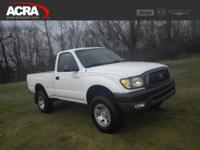 Used Toyota Tacoma, options include:  Fog Lights,