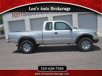 Options:  2004 Toyota Tacoma We Had 3 And Now Just This