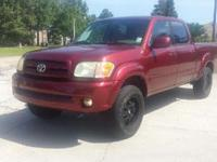 2004 TOYOTA TUNDRA LIMITED four DOOR DOUBLE CAB RWD SB