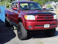 Salsa Red Pearl 2004 Toyota Tundra Limited 4WD 4-Speed