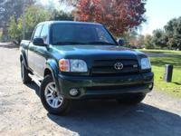 Our 2004 Tundra Double Cab is the largest of the