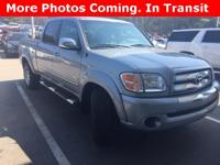 Options:  2004 Toyota Tundra Sr5|Silver|4D Double